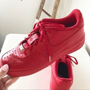 Nike Air Force 1 Universtiy Red Shoes